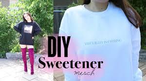 Light Blue Sweetener Hoodie Diy Ariana Grande Sweetener Merch