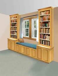 this built in windowseat bookshelf can be an attractive addition to your home