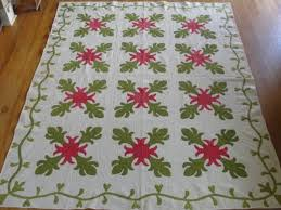 122 best Red and green Christmas quilts images on Pinterest ... & antique red and green quilt Adamdwight.com