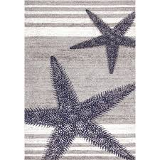 quality starfish area rug home decorators collection blue 5 ft x 8