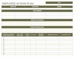 Employee Corrective Action Plan Template Employee Write Ups