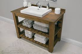 Fine Rustic Bathroom Vanities Photos Build Something With Perfect Design