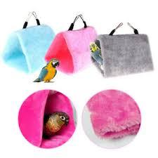<b>1pc Pet Bird Parrot</b> Parakeet Budgie Warm Hammock Cage Hut Tent ...