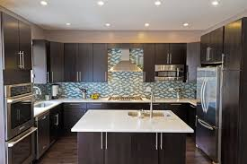 Easy Kitchen Decorating Fascinating Dark Kitchen Cabinets With Light Granite Easy Kitchen