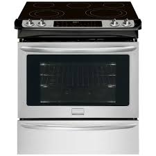 frigidaire gallery 30 in 4 6 cu ft slide in electric range with