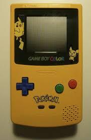 Pikachu Gameboy Light File Game Boy Color Pikachu Jpg Wikimedia Commons
