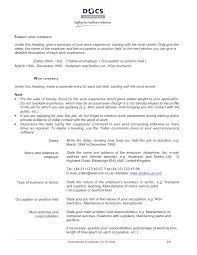 Cv Exemplars Cv Examples European Format Cv Examples