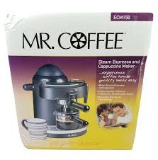Like the easy espresso machine, the mr. Mr Coffee Espresso Machine Model Ecm150 Black For Sale Online Ebay