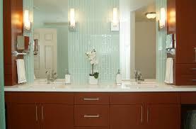 modern bathroom sconces wall vanity long wall sconces bathroom contemporary with custom woodwork double va