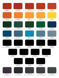 Industrial Paint Colour Chart Conclusive Gloss Colour Chart Turquoise Colours Chart Tiger