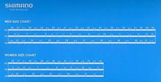 Shimano Shoe Size Chart Shimano 2017 Womens Race Performance Road Cycling Shoe