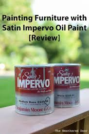 benjamin moore furniture paintPainting Furniture with Benjamin Moore Satin Impervo  The