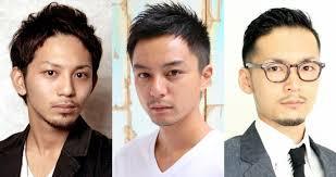 丸顔 ショートヘア メンズ 特集 男前研究所 In メンズ 髪型 分け目