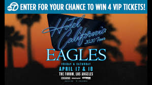 Heres Your Chance To Win Vip Tickets To See The Eagles In