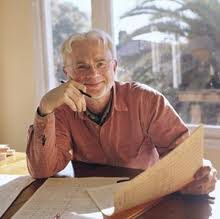 john adams composer john adams composer john adams at his desk an orchestral manuscript page in hand