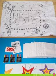 Design Your Own Pillowcase Beauteous Sleepover Party Pillowcase Craft Top Party Ideas