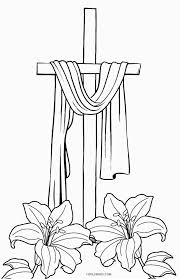 Free Printable Cross Coloring Pages For Kids For Cross Coloring