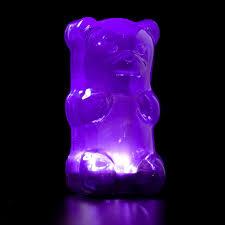 Light Gummy Bears Gummygoods Gummy Bear Nightlight Purple