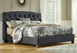 Kasidon Tufted Upholstered Bed Beds Bedroom Furniture Bedroom
