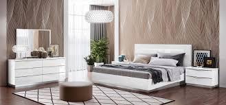 white modern bedroom furniture. Modren White Bedroom Furniture Modern Bedrooms Onda Legno White With Led Lights And A