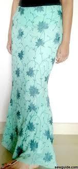 Mermaid Skirt Pattern Beauteous Make A Mermaid Skirt Free Sewing Pattern Tutorial Sew Guide
