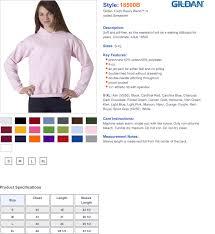 Gildan 18500 Size Chart Youth Hooded Sweatshirt Pouch Pocket True To Size Apparel
