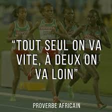 Proverbe Africain Sur Lesprit Déquipe Et Lamitié