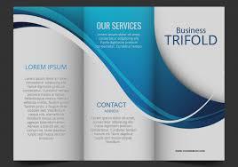 3 column brochure blank tri fold brochure template