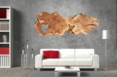live edge wood slab wall art