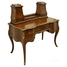 late victorian mahogany las writing desk antique