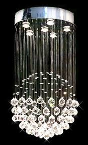 "Modern Contemporary Chandelier ""Rain Drop"" Chandeliers Lighting  with Crystal ..."