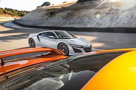 2018 acura nsx 3 2. brilliant acura 2017 acura nsx vs nissan gt r side in motion intended 2018 acura nsx 3 2 s