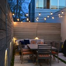 How To Hang Outdoor String Lights Gorgeous How To Hang Up String Lights Outside They Steer The Space Into A