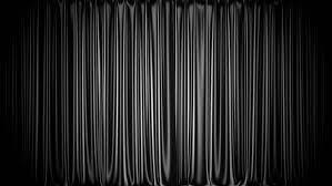 black stage curtain 3d animation with chroma key and alpha matte hd stock footage clip