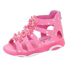 Size 1 Girl Shoes Chart Baby Toddler Girls Princess Shoes Sandals For 1 13 Years Old Kids Child Summer Crystal Polka Dot Open Toe Sandal