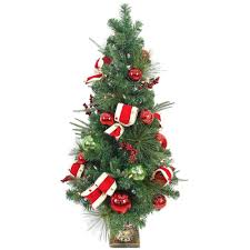 Home Accents Holiday 6 Ft PreLit Potted Artificial Christmas Holiday Home Accents Christmas Tree