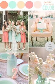 peach wedding colors. Color Story Wedding Pinterest Peach Weddings and Wedding