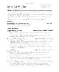 Sample Nurses Resume Amazing Graduate Nurse Resume Example Nursing Resume Samples For New
