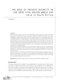 Smith And Kole Lighting Technology Pdf The Role Of Private Security In The 2010 Fifa Soccer
