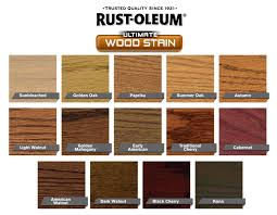 Interior Wood Stain Color Chart Awesome Interior Stain Colors 2 Rust Oleum Wood Stain