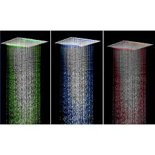 Wholesale Cheap Electric Shower Online Brand  Find Best Led Rain Recessed Ceiling Rain Shower Head