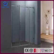 showers frameless glass shower screen door parts pivot door polished chrome hinges kd8018
