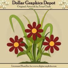 Paper Piecing Flower Flowers 1 Cutting Files Paper Piecing Patterns 1 00 Dollar
