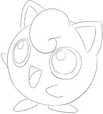 Jigglypuff Coloring Pages Getcoloringpagescom