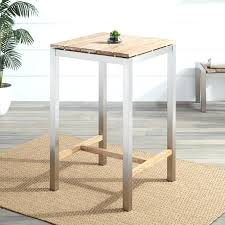 outdoor bar table square teak outdoor bar table whitewash outdoor bar table and chairs nz