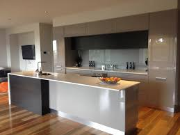 Flooring In Kitchen Grey Black Kitchen With Spotted Gum Timber Flooring Our New