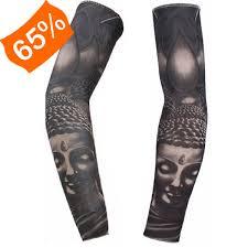 Tetování Rukáv Falešné Tetování Na Ruku 1 Ks Buddha
