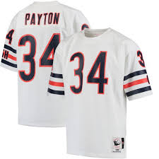 Chicago Ness White amp; 1985 Mitchell Authentic Jersey Walter Bears Throwback Men's Payton