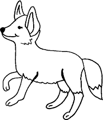 Fox Pictures To Color Big Eyed Artic Fox Coloring Pages Big Eyed