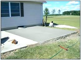 how much does it cost to pour a concrete patio cost to pour concrete patio lovely outstanding cost to pour concrete patio slab